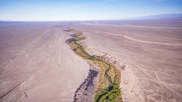 Historia del Río Loa en el Amplio Desierto del Norte Grande