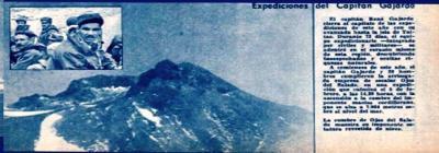 La primera ascensión al volcán Ojos del Salado por una Expedición Chilena