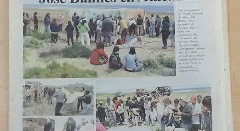 José Balmes Parramón y su paso por tierras atacameña