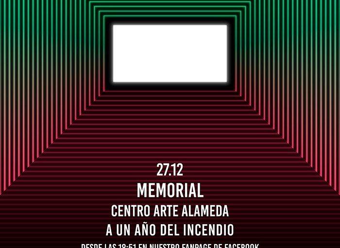A un año del incendio: Centro Arte Alameda prepara conmemoración con acción lumínica de Trimex en las ruinas de la sala de cine