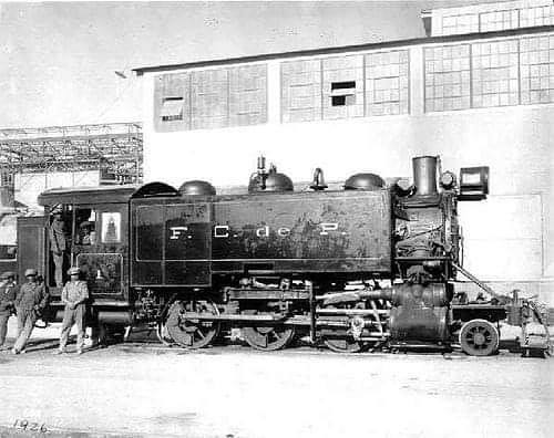 La llegada del Ferrocarril a Potrerillos