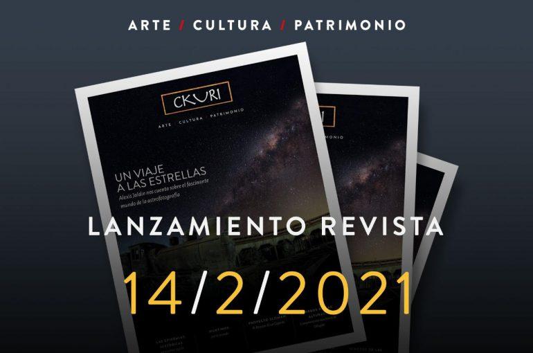Lanzamiento Revista CKURI: Artes, Cultura, Patrimonio y Montañismo