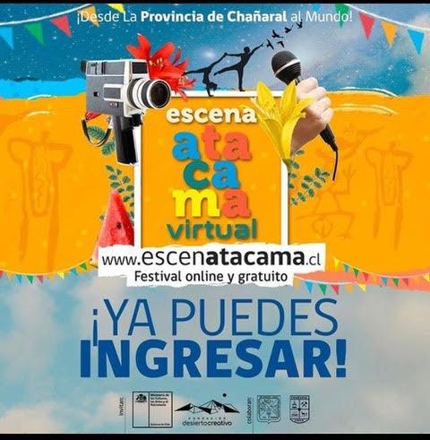 Hoy comienza el evento EscenAtacama con un centenar de artistas de la Provincia de Chañaral