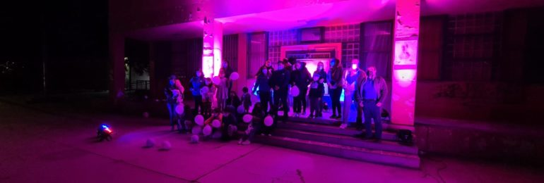 Purple Day: Edificios y monumentos de todo Chile se iluminaron de púrpura por la Epilepsia