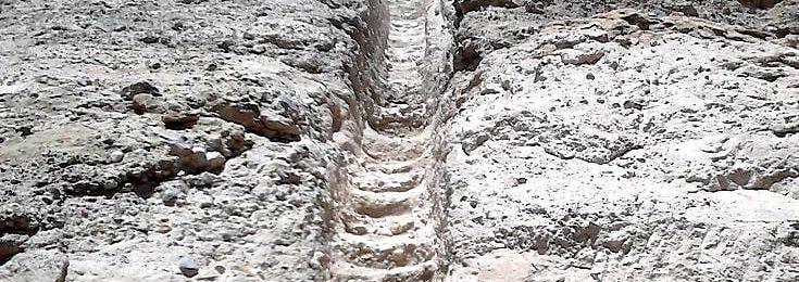 La Escalera del Indio, Un monumento pétreo  en la comuna de María Elena