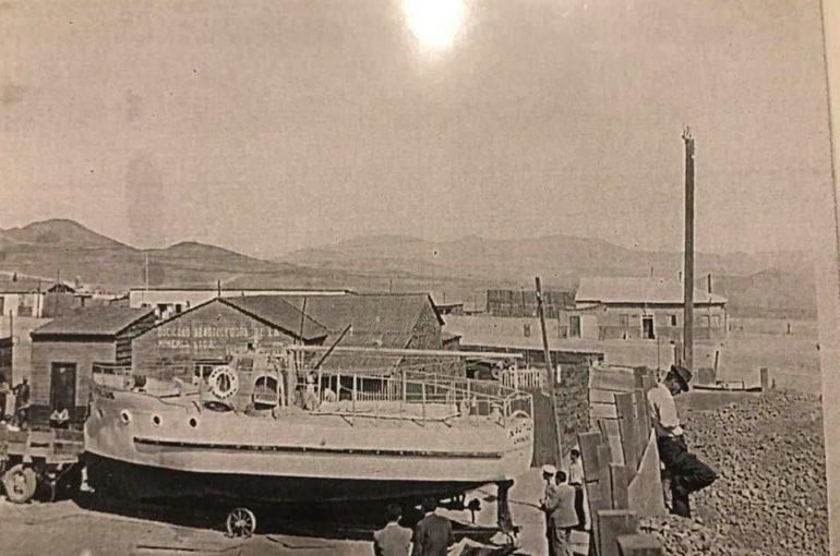 """""""NAUTILUS"""": Barco construído en Inca de Oro"""