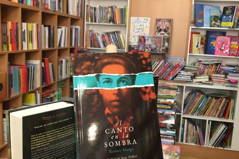 """Romeo Murga vuelve a las librerías con """"El canto en la sombra"""""""