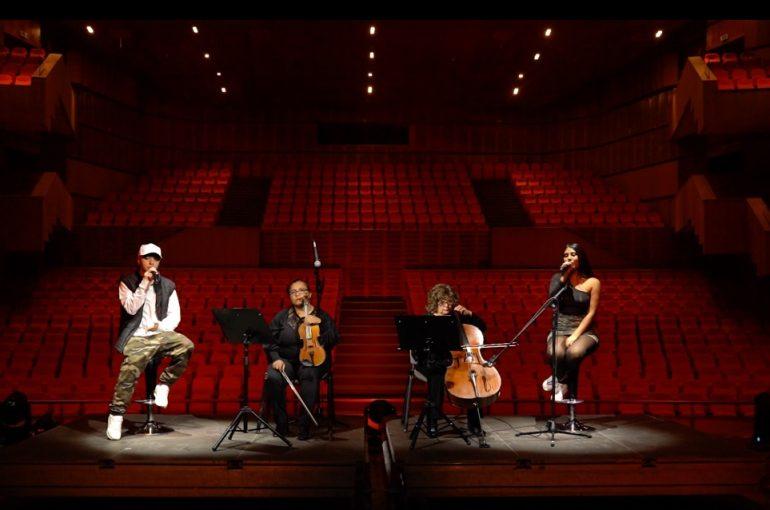 Profesores y ex alumnos del Liceo de Música se reencontraron en el escenario