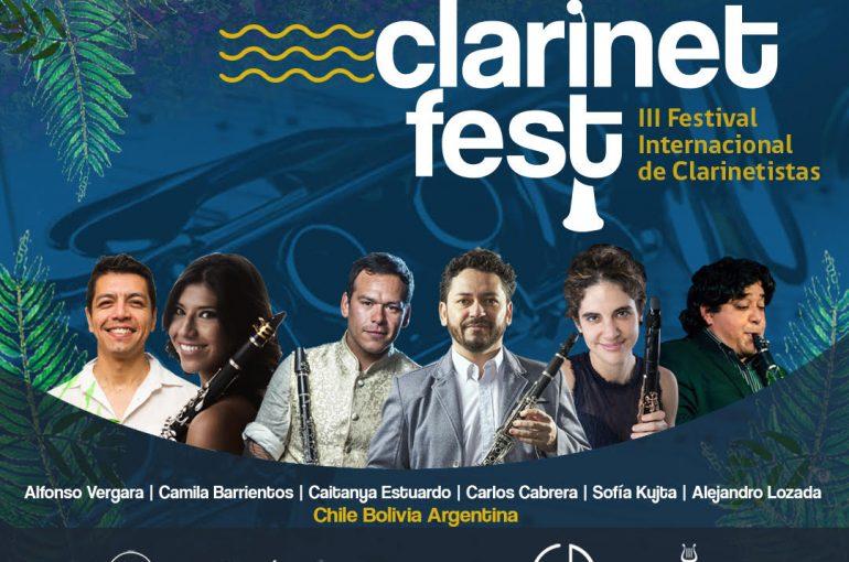 Vuelve el Festival Internacional AtacamaClarinetFest con maestros y estudiantes de todo Chile y Latinoamérica
